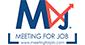Logo Meeting for job